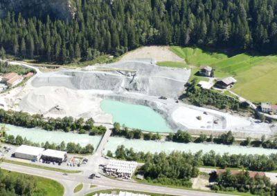 GKI Gemeinschaftskraftwerk am Inn: Deponie Maria Stein (Aug. 2016)